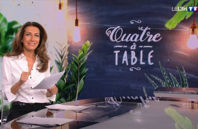 Anne-Claire Coudray classe en chemise blanche