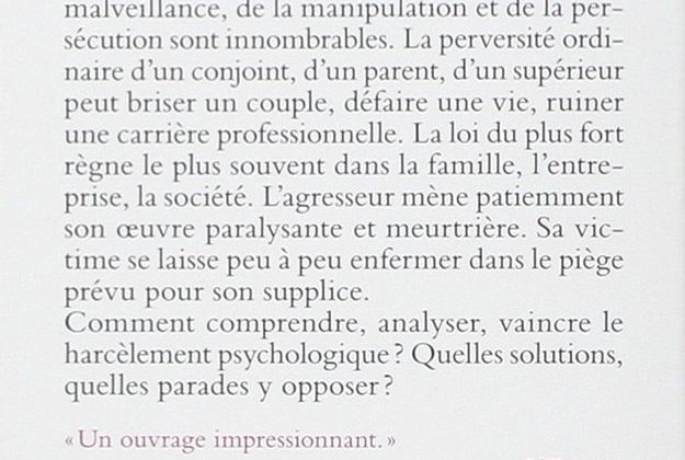 La séduction perverse par Marie-France Hirigoyen