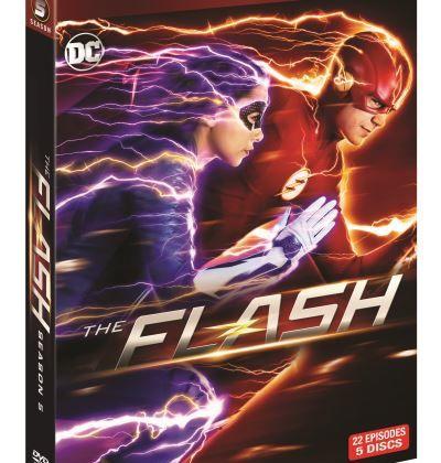 Saison 5 de la série Flash dès ce jeudi soir sur Syfy.