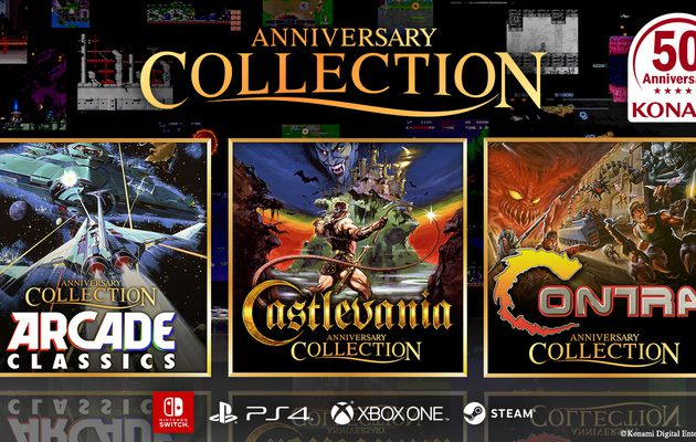 [TEST] CONTRAT ANNIVERSARY COLLECTION et ARCADE CLASSICS ANNIVERSARY COLLECTION PS4