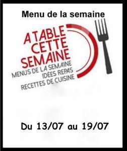 "Menu "" A table cette semaine"" #95 , des chips et du made in france"