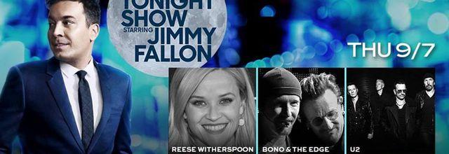 U2 -The Tonight Show Starring Jimmy Fallon-New York -07-09-2017
