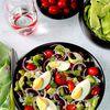 Salade complète aux haricots rouges (pour 1 pers)