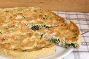 Tarte saumon / épinard