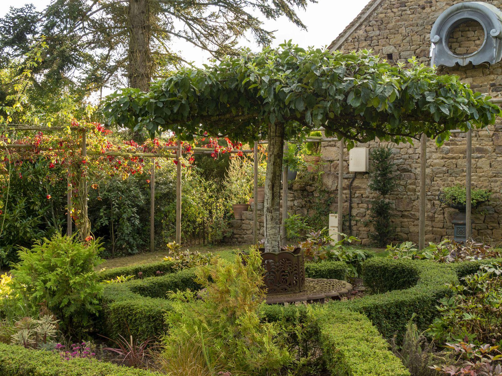 Les jardins de la Mansonière, raffinement et théâtralité