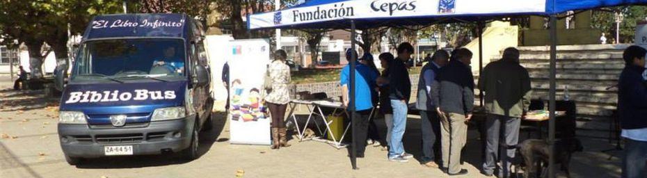 Chili - Coronel - La Fondation Cepas participe à la journée mondiale du livre et du droit d'auteur
