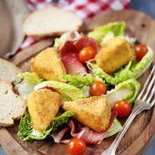Salade au Royal crémeux pané | chefNini