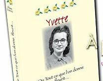Liliane Godat et son dernier livre : YVETTE
