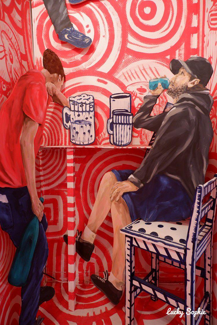 Expo street art Non Essentiel à Lyon Montchat