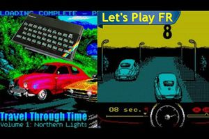 ZX Spectrum Let's Play - Travel Through Time Volume 1: Northern Lights (2021)