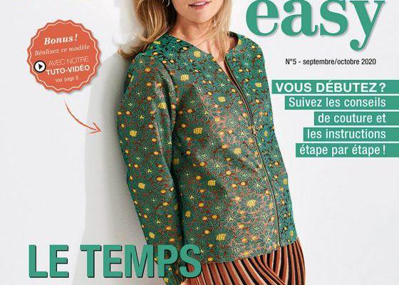 Magazines de septembre 2020: Burda easy (couture facile)