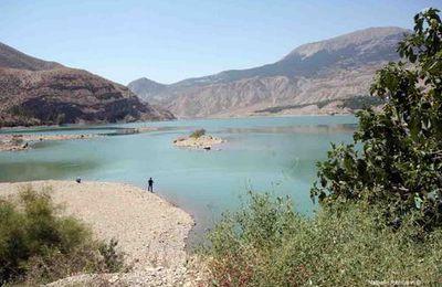 Les cascades de Tortum au nord d'Erzurum en Turquie