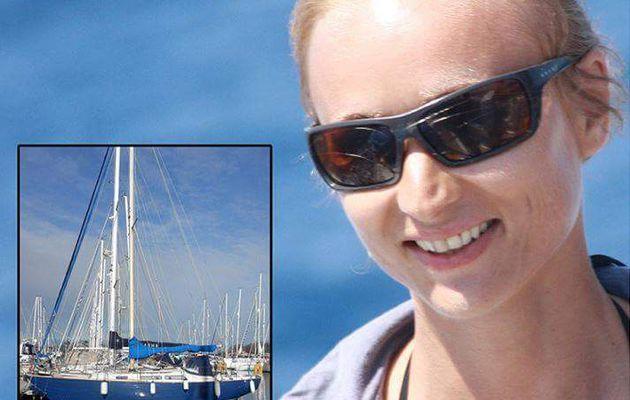 Oksana la 5ème  à prendre la mer pour sa longue route!