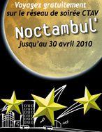 Noctambul' : Le réseau de soirée gratuit jusqu'au 30 avril !
