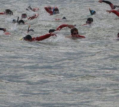 De Fouras à l'Île d'Aix à la nage