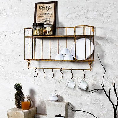 Inspiring Ideas to set up Kitchen Shelves