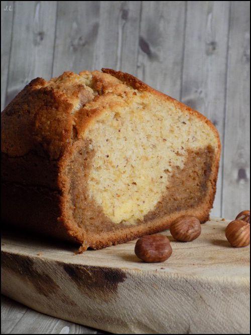 Cake noisette pralinoise