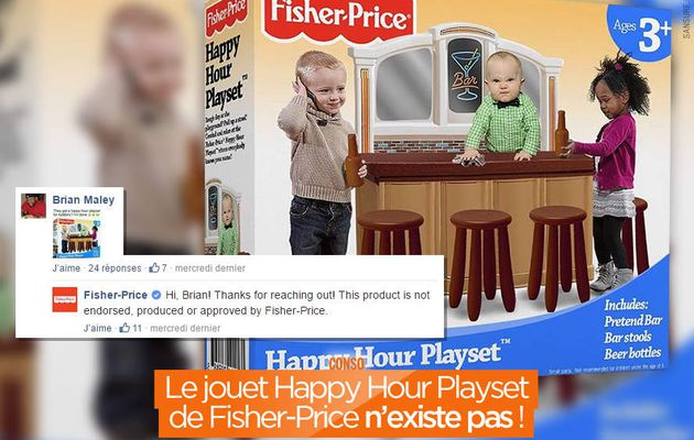 Le jouet Happy Hour Playset de Fisher-Price n'existe pas ! #hoax