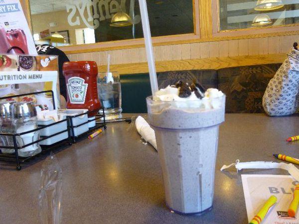 Restaurant Denny's, à Las Vegas : pour se restaurer à toute heure.