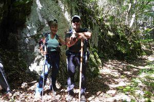 Ma randonnée  Croix de Justin Diois -