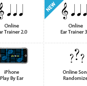 Online Ear Training with Intervals, Melodies, and Jazz Chord Progressions | IWasDoingAllRight