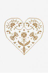 Très belles grilles de cœur et mariage chez DMC