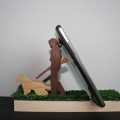 SUPPORT iPhone Chasseuse