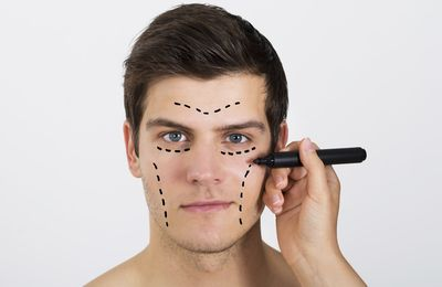 What can plastic surgery offers men?