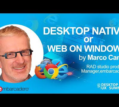 What is Desktop Native or Web on Windows - Preview