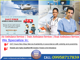 Vedanta: The Best One to Hire for Emergency Patient: Low-Cost Air Ambulance Service In Bangalore