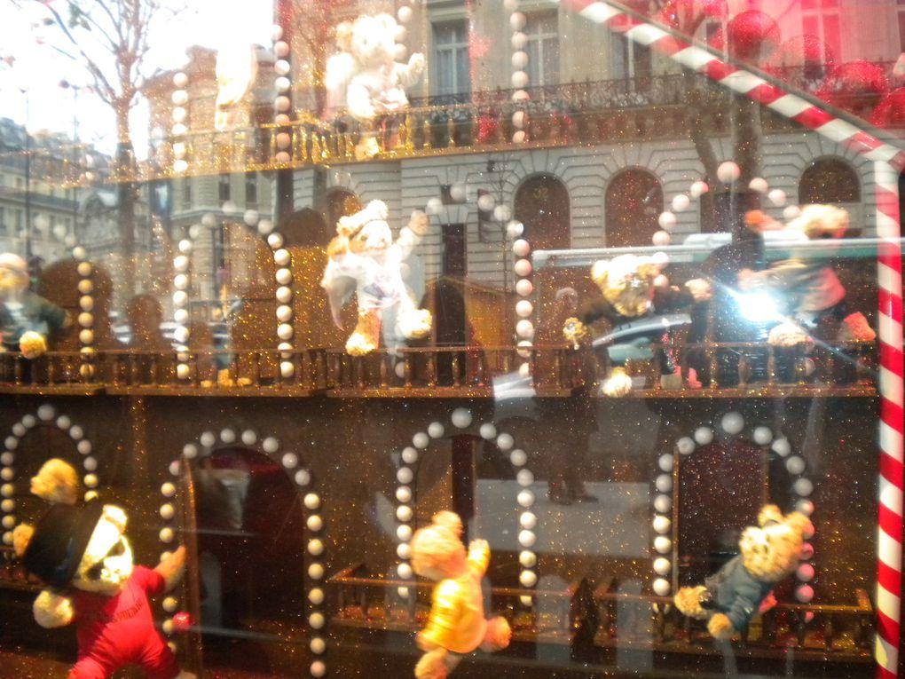 Balade dans Paris Noêl 2009