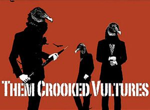 Them Crooked Vultures on tour...