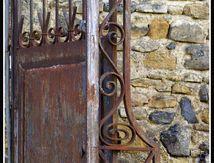 Le vieux portail ...
