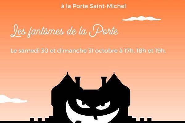 Guérande - Halloween: Les fantômes de la porte - Samedi 30 au dimanche 31 octobre 2021