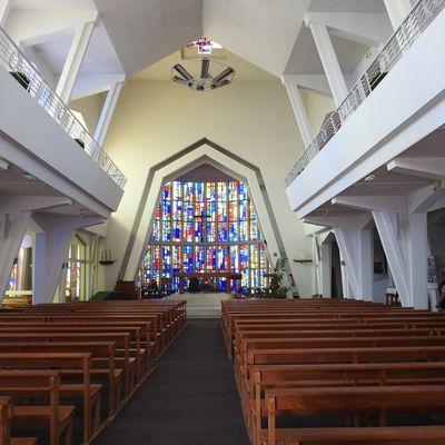 Notre Dame des Flots au Cap-Ferret...