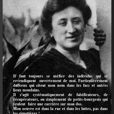 Rosa Luxemburg et le militarisme