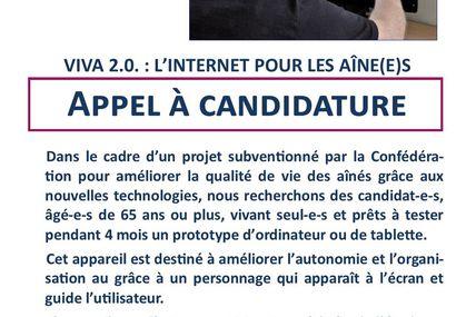 Projet CaMeLi : Appel à candidature