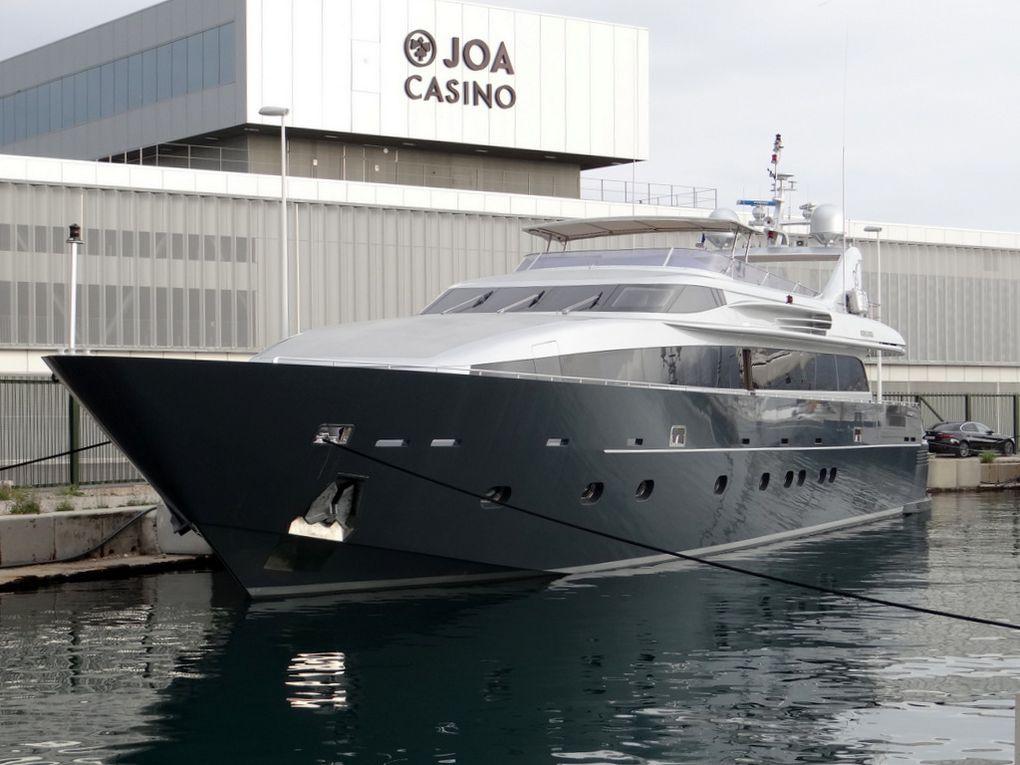 FORTUNA , a quai à la Seyne sur Mer le 13 mai 2018