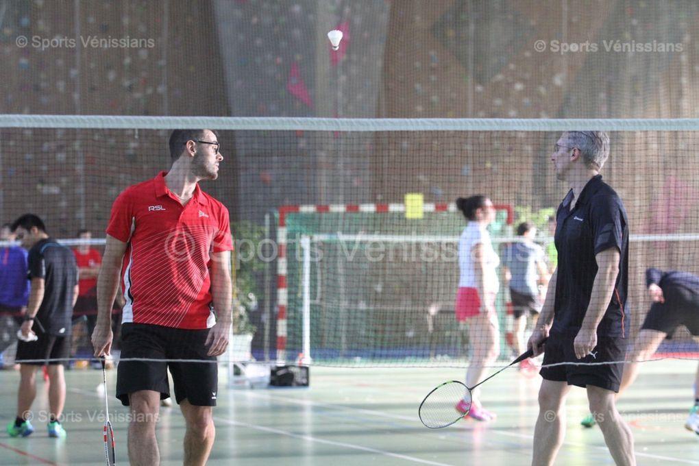 Succès d'estime de cette 5ème édition du trophée de la ville de badminton en double