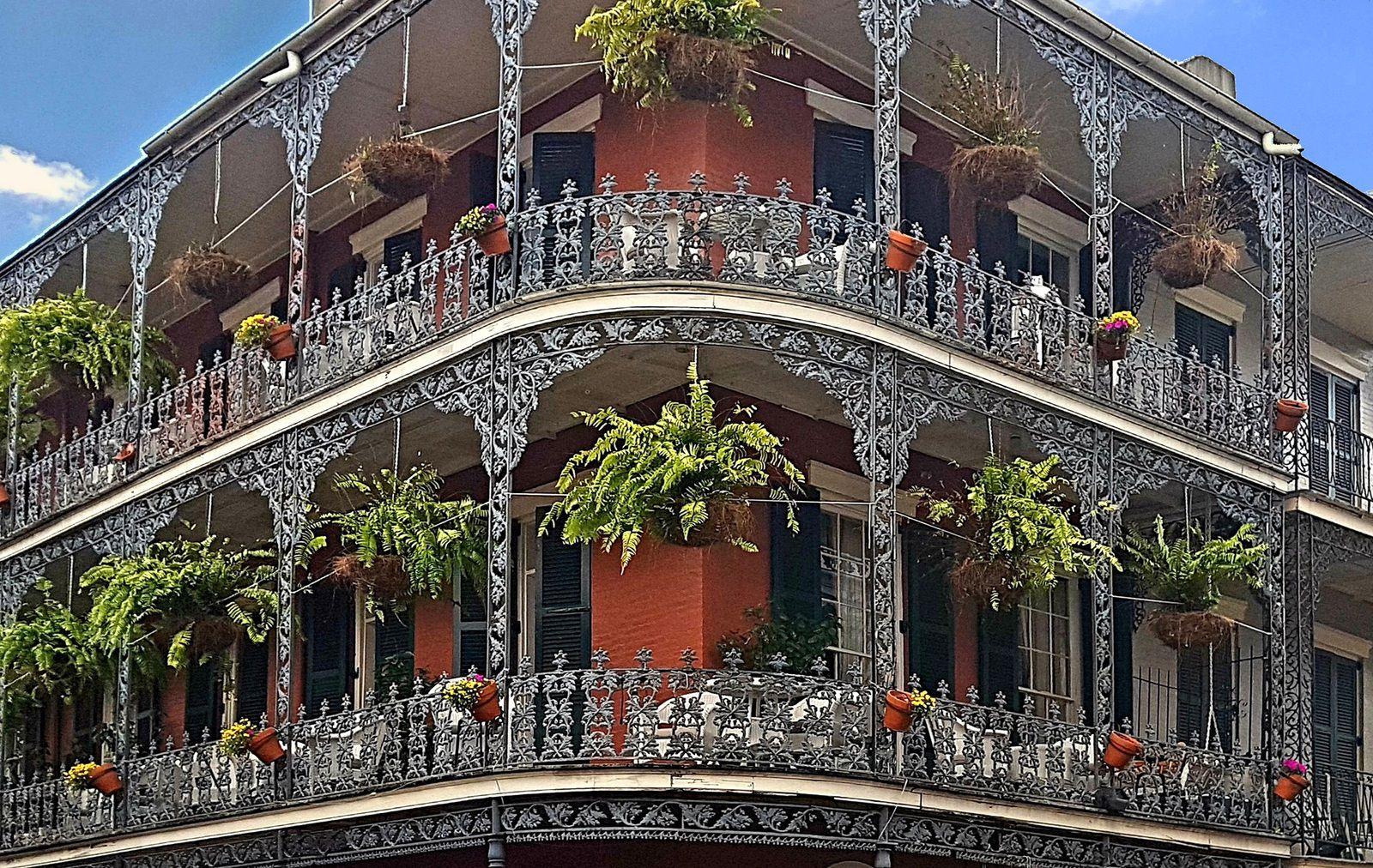 Nola LaBranche House balcon