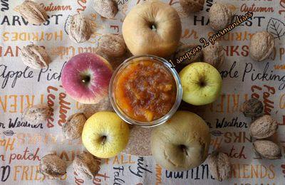 Confiture Pommes-Noix-Caramel