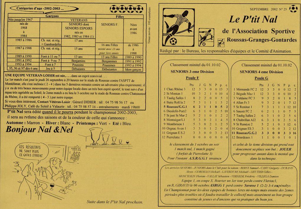 Album - saison-23-2002-2003