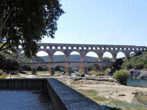 Pont du Gard en camping-car