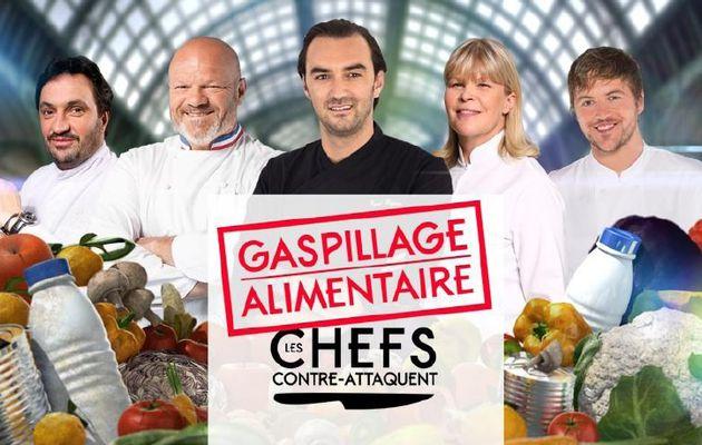 « Gaspillage Alimentaire : Les Chefs contre-attaquent » le 07 octobre sur M6