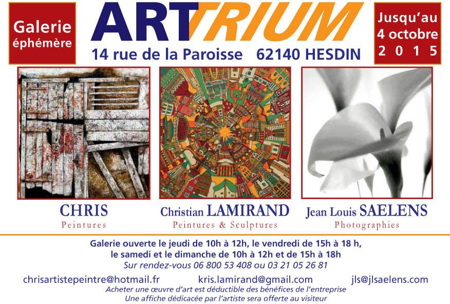 """""""ART TRIUM""""...JOUE LES PROLONGATION...à HESDIN..."""