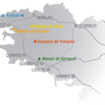 Les chemins du patrimoine en Finistère