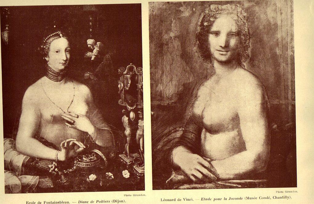"""clichés tirés de la revue  """"Vivre Intégralement"""",  édition trimestrielle de 1929, titre : La nudité à travers les âges  auteur H. Nadel"""