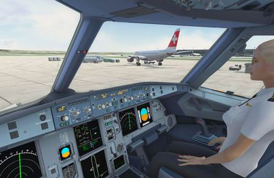Learning How to Fly Using Flight Simulator Games