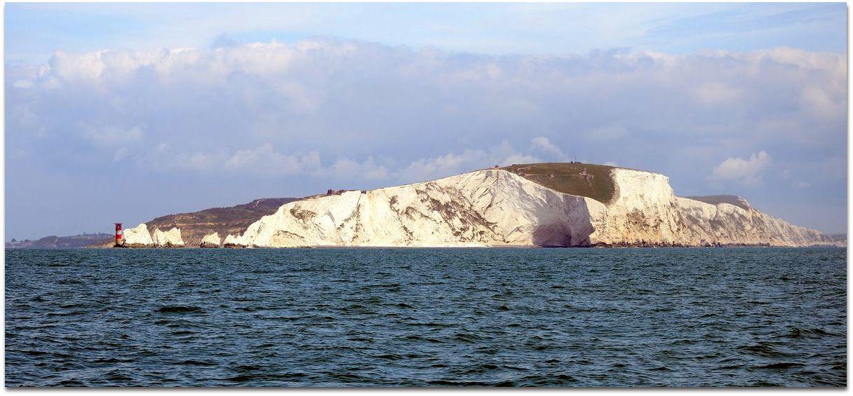 Arrivée à l'Île de WIGHT...