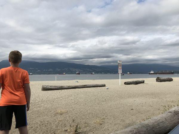 Vancouver - la plage